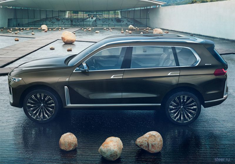 Как будет выглядеть самый большой вседорожник BMW x7