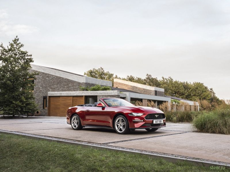 Обновленный Ford Mustang для европейцев: еще более мощный 5,0-литровый V8