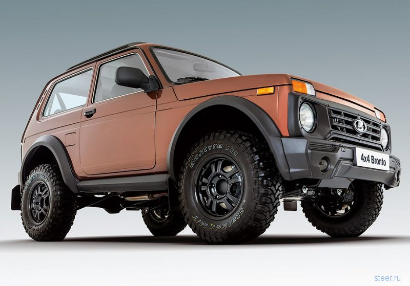 Самая внедорожная Lada 4x4 будет стоить 740 тысяч рублей