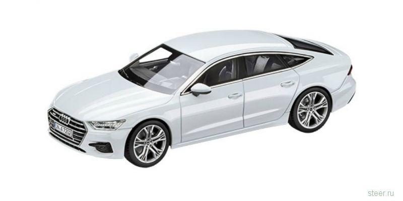 Первое фото новой Audi A7