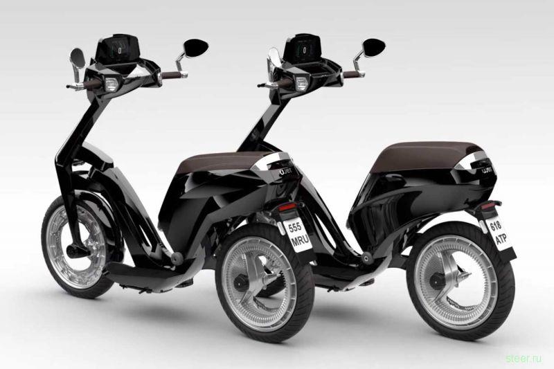 Анатолий Чубайс представил чудо-мотоцикл UJET