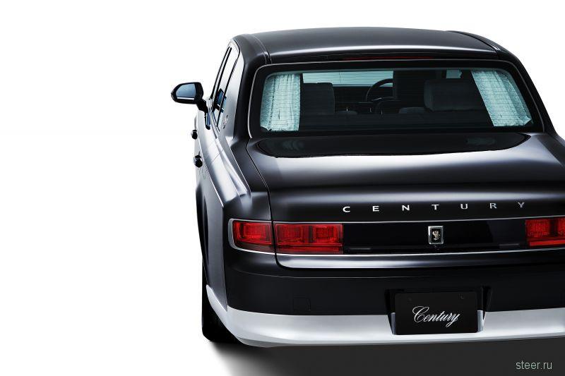 Toyota показала новое поколение представительского седана Toyota Century