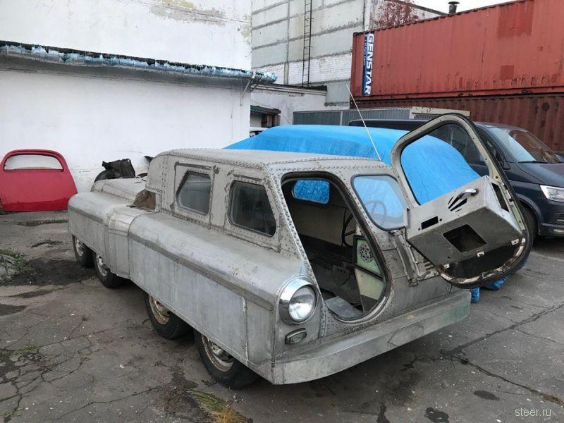 Уникальный советский вездеход 8х8, сделанный из «Победы»