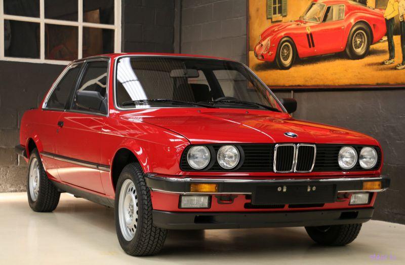 В Бельгии продают новый BMW 1985 года