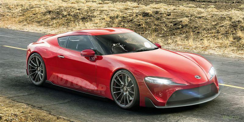 Новую Toyota Supra выпустят под суббрендом Gazoo на одной платформе с BMW Z4