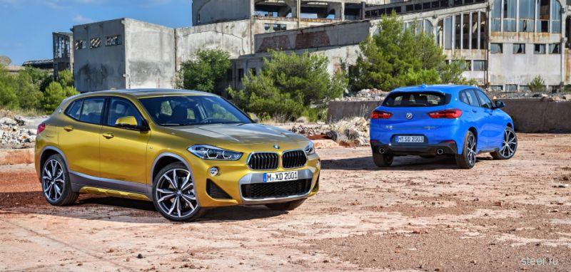 Официально представлен серийный кроссовер BMW X2