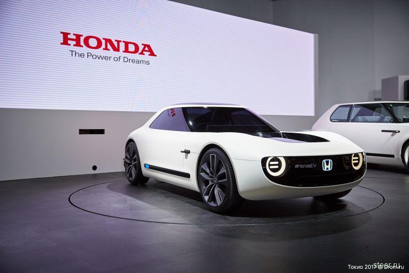 Honda Sports EV : спортивное электрическое купе