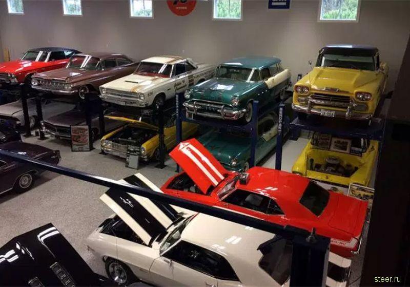 Пожар уничтожил коллекцию машин стоимостью 1,8 миллиона долларов
