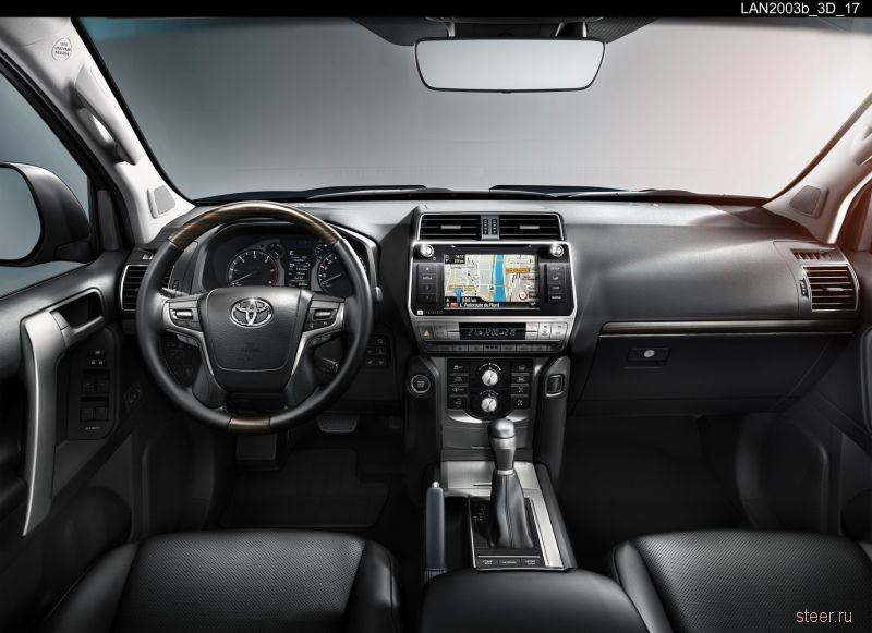 Стартовали российские продажи обновленного Toyota  Land Cruiser Prado.