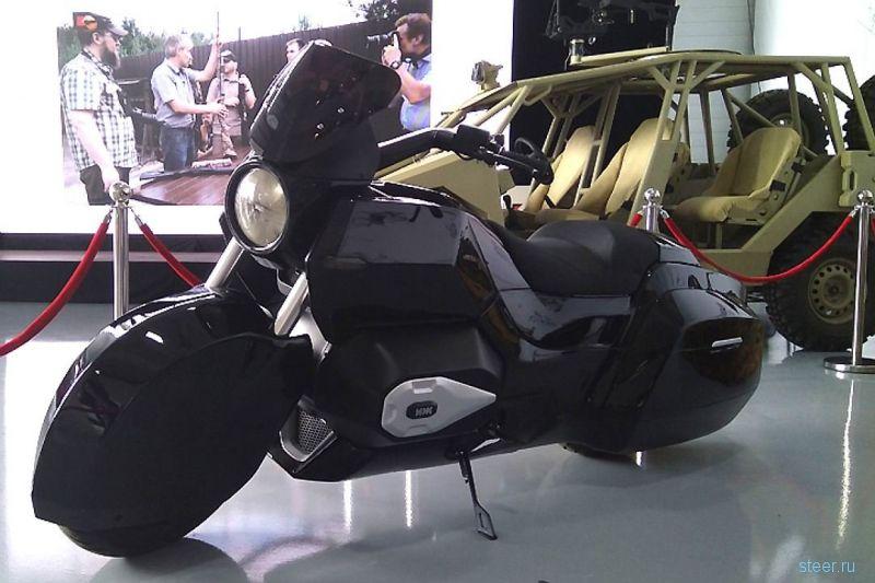 Концерн «Калашников» представил мотоцикл под проект «Кортеж»