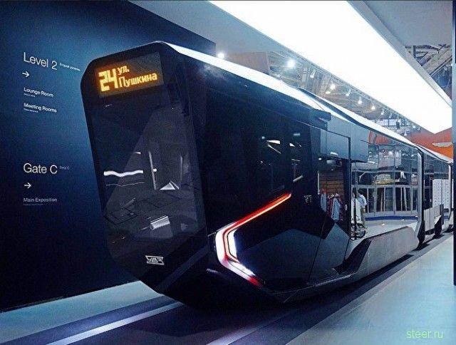 «Ростех» отказался от производства трамвая будущего R1.