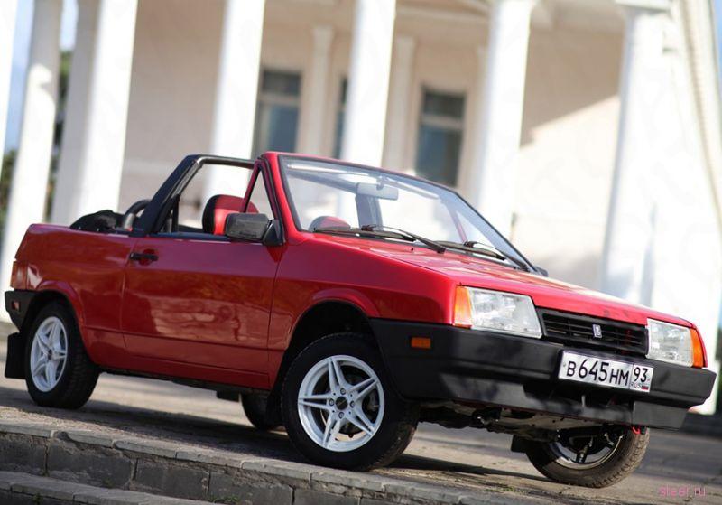Отреставрированный кабриолет ВАЗ-2108 продают за миллион рублей