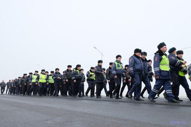 Реакция людей на крестный ход гаишников на аварийном участке автодороги «Темрюк–Краснодар»