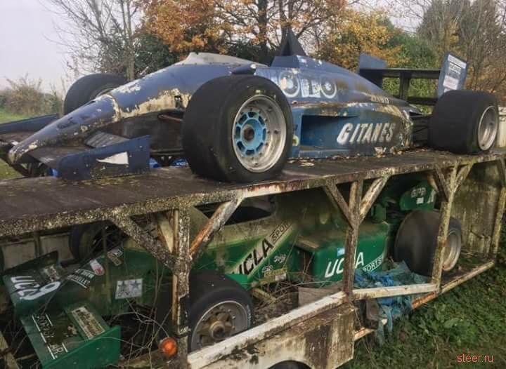 Во Франции нашли свалку болидов Формулы 1