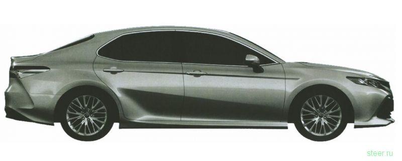 Первые изображения новой Toyota Camry для российского рынка