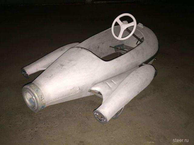 Педальный автомобиль Ракета - можно в Космос!