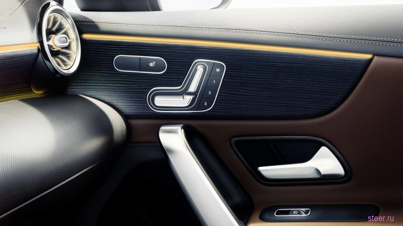 Представлен интерьер нового Mercedes-Benz A-Class