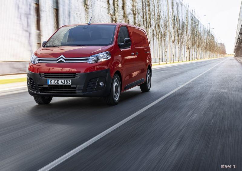 В России начнут выпускать Citroën Jumpy и Peugeot Expert