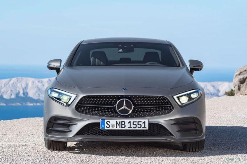 В Сети полностью раскрыли новый Mercedes-Benz CLS