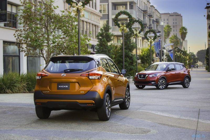 Nissan Kicks : замена Juke