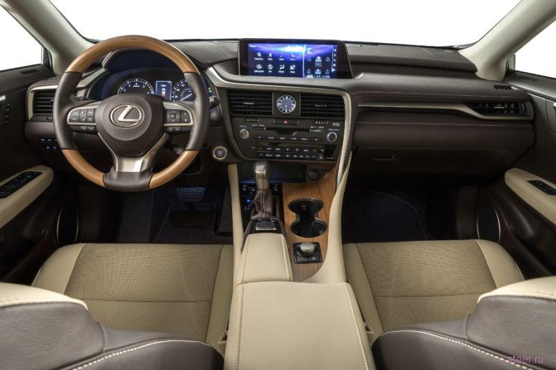 Представлен удлиненный Lexus RX с тремя рядами сидений
