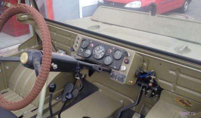 Уникальный военный внедорожник ЛуАЗ-967 выставлен на продажу в Германии.