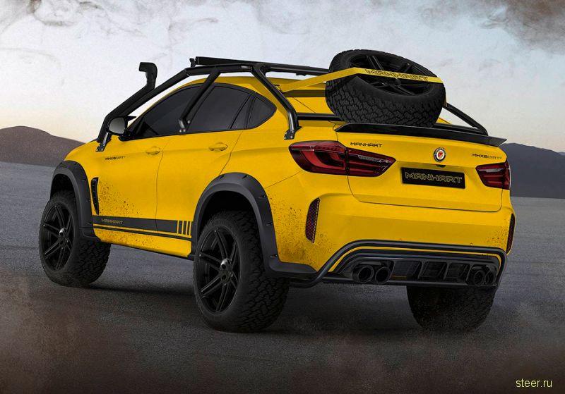 Уникальный BMW X6 M MHX6 Dirt² для бездорожья