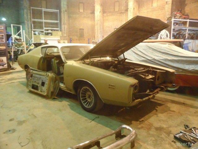 Восстановление Dodge Charger 1971 Darth Vader