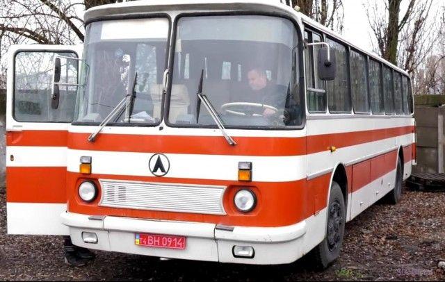 На Украине нашли ЛАЗ-699Р в идеальном состоянии и с мизерным пробегом