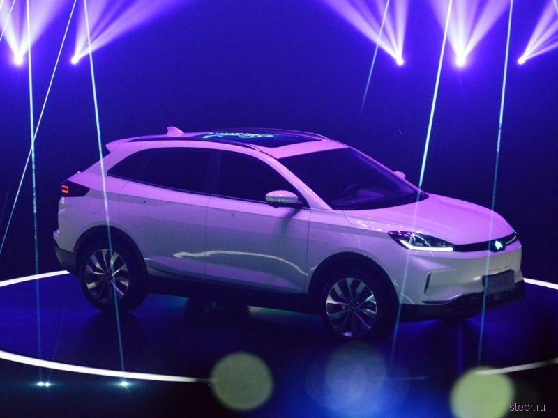 В Китае представили электрокроссовер новой марки Weltmeister