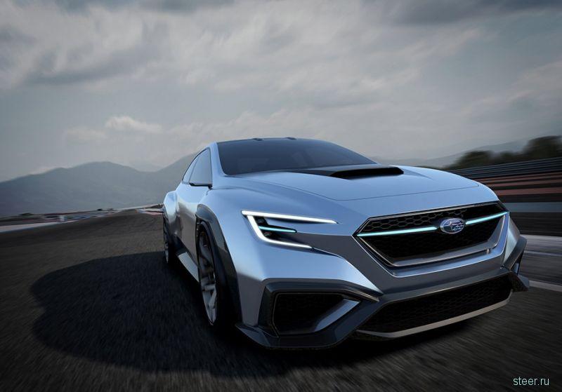 Первые подробности о новом Subaru WRX
