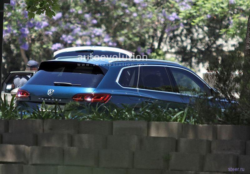 Первые фото нового Volkswagen Touareg