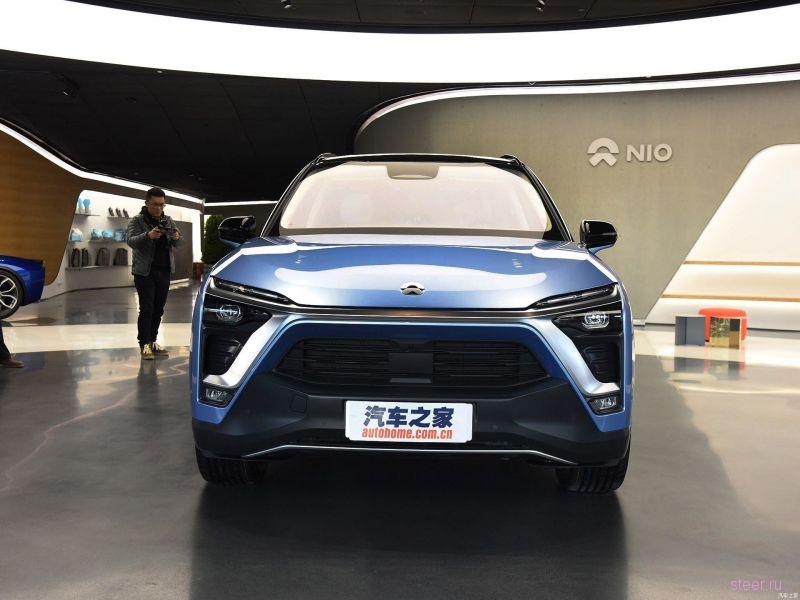 В Китае начались продажи полноразмерного электрического кроссовера Nio ES8
