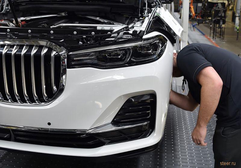 Первые фото огромного внедорожника BMW X7