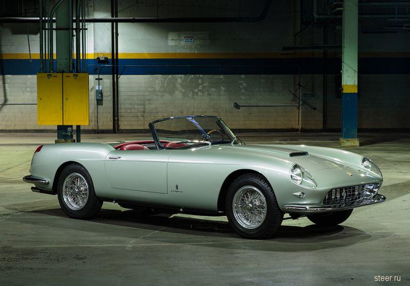 Раритетный 59-летний кабриолет Ferrari продадут за 8 миллионов долларов