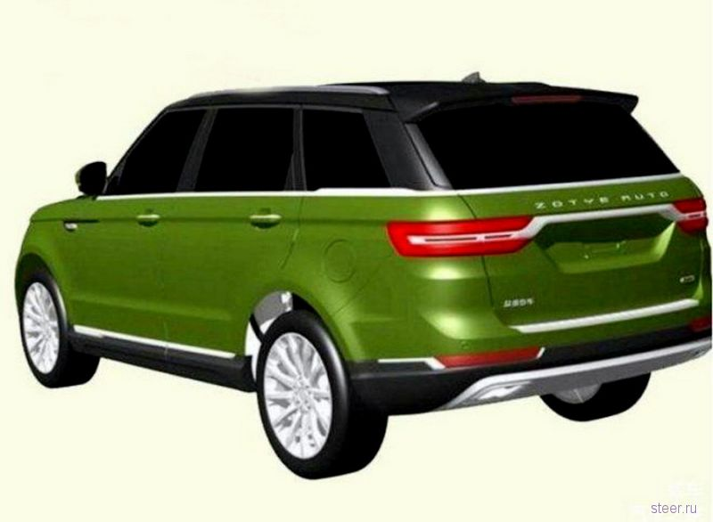 «Китайский Range Rover» Zotye T800 : вчетверо дешевле настоящего