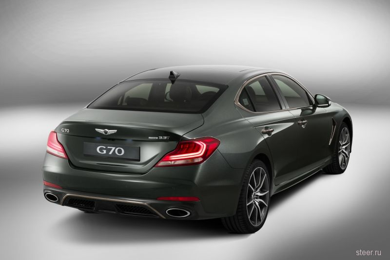 В России будет продаваться бизнес-седан Genesis G70
