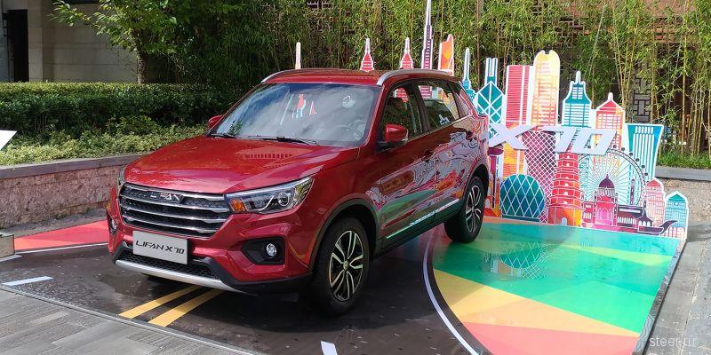 Lifan анонсировал прадажу в России конкурента Hyundai Creta