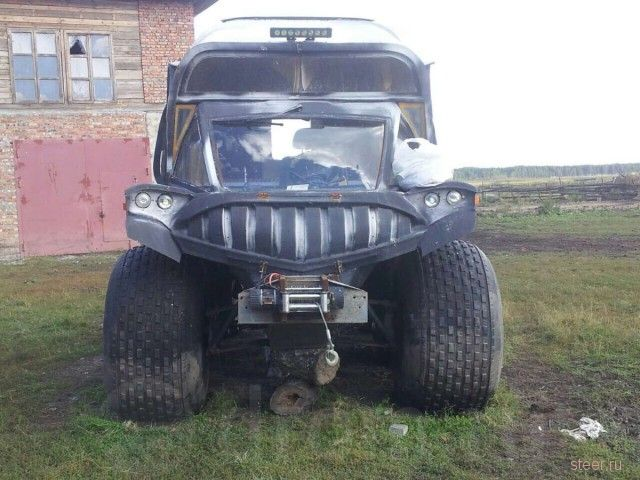Омич продает болотоход пришелец за 600 тыс.рублей.