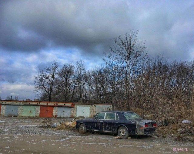 Rolls-Royce убитого вора в законе 15 лет гниет на окраине Харькова