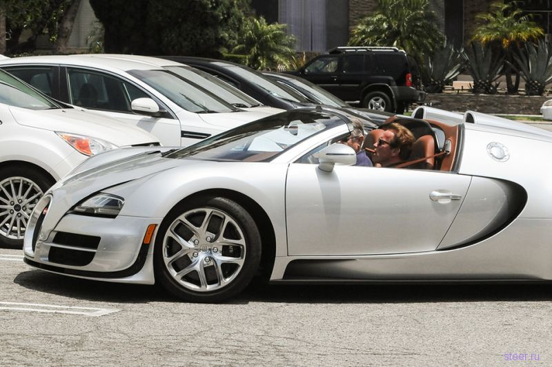 Bugatti Veyron Шварценеггер продали за 2,5 миллиона долларов