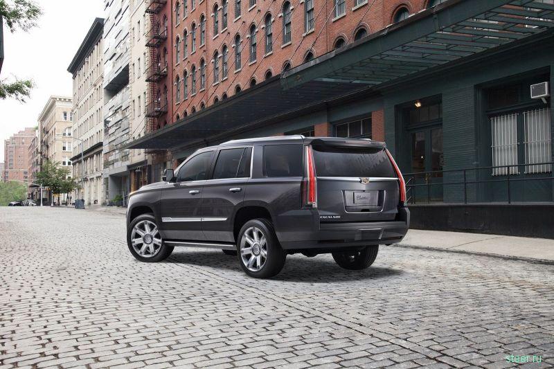 Стартовали российские продажи обновленного Cadillac Escalade