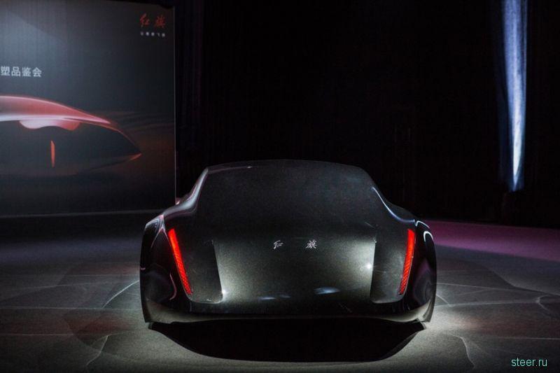 Китайцы представили прототип правительственного лимузина в стиле Maybach