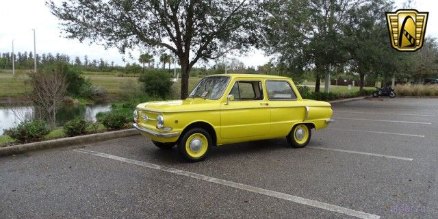 В США продают 40-летний «Запорожец» ЗАЗ-968 за 800 000 рублей