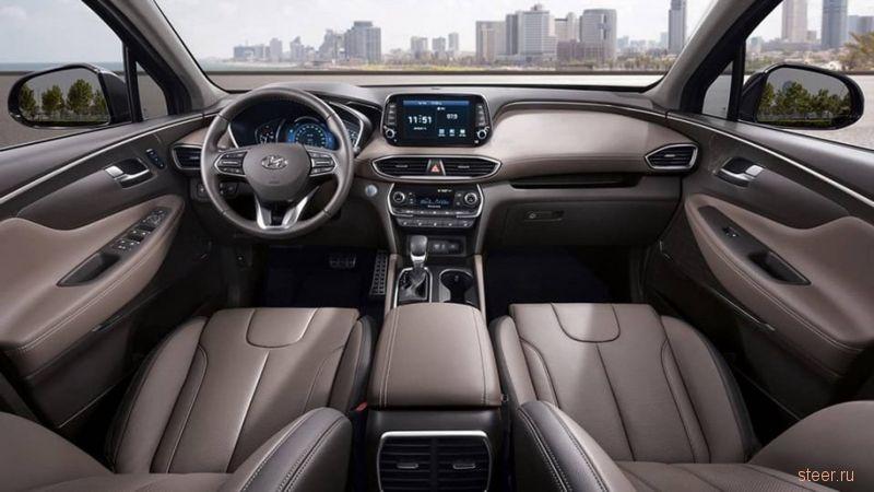 Первые фото нового Hyundai Santa Fe