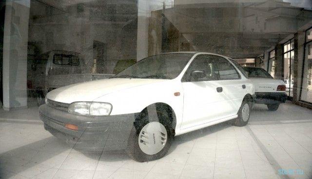 Заброшенный автосалон Subaru на Мальте