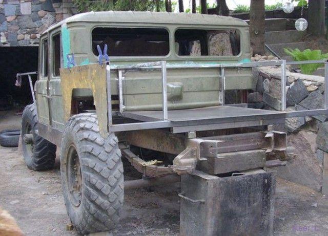 Как из ГАЗ-66 сделали почти Хаммер