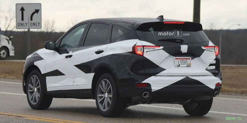 Новую Acura RDX заметили на тестах