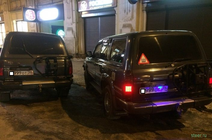 В Иркутске полицейские выявили автомобиль с поддельным госномером
