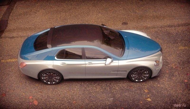 Возрожденная ГАЗ М20 Победа от независимого дизайнера
